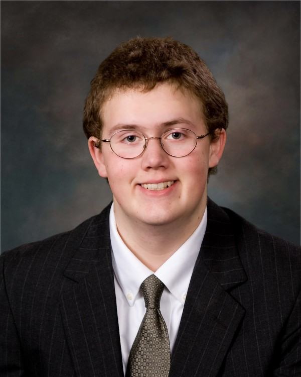 Nicholas Pettegrow, 2012 salutatorian for Katahdin High School
