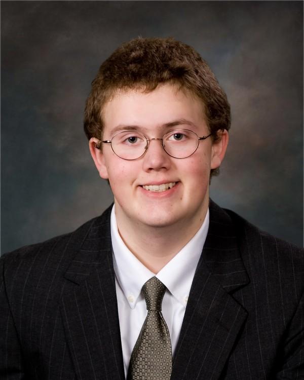 Nicholas Pettegrow, 2012 salutatorian for Katahdin High School