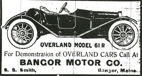 Touring autoists checked their machines into the Bangor Motor Company for servicing while they were staying at the nearby Bangor House a century ago. This advertisement appeared in Bangor newspapers on Aug. 28, 1912.