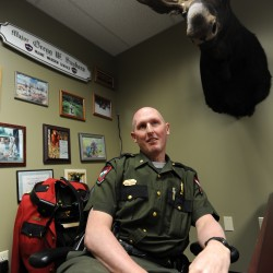 Stem cell match found for Maine game warden