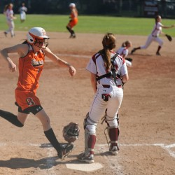 Cony High School hands Brewer first softball loss
