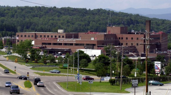 This Aug. 5, 2002, photo shows the Central Vermont Medical Center in Berlin, Vt. The state of Vermont hopes to build a new 25-bed state-run psychiatric hospital adjacent to the hospital.  Gov. Peter Shumlin chose the location near the hospital over another site a short distance away because most advocates and officials felt locating the facility near the hospital would ensure better patient care.