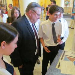 LePage, Bowen and business leaders recognized robotics teams, STEM students at ceremony