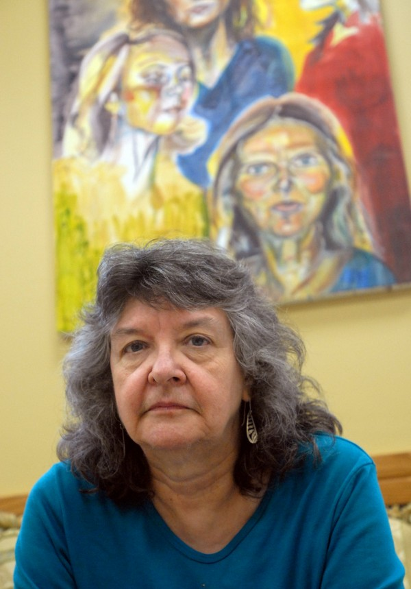 Sharon Barker, founder of the Women's Resource Center at the University of Maine.