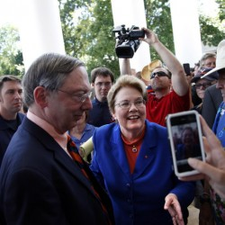 UVA official who pushed President Teresa Sullivan's ouster now out himself
