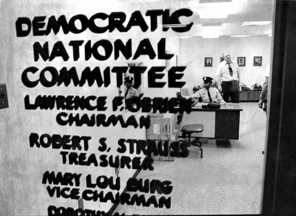 The Democratic National Committee office, the day after the June 17, 1972 break-in at the Watergate complex in Washington.