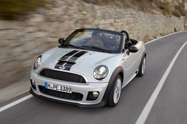 The 2012 Mini Cooper John Cooper Works Roadster convertible is a funmobile that can also serve as a long-distance runner or daily commuter. But seating is limited to one passenger and there's not much cargo space.