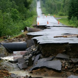 Flooding closes roads and schools in northern Vermont