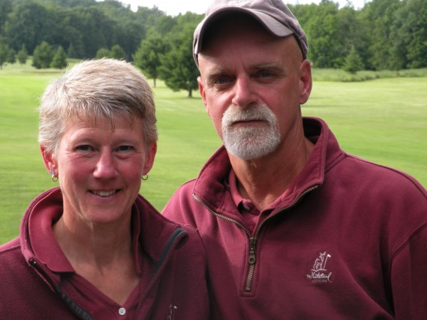 Sharon and Ken Martin bought WhiteTail Golf Course in Charleston in March. Since then, they have been making improvements to the course, including enlarging the tee boxes, and sprucing up the clubhouse.