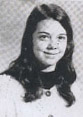 Bella Baldwin, in a 1971 yearbook photo.