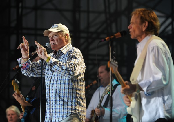 Mike Love, the Beach Boys front man, opens the show at the Bangor Waterfront on Friday, June 22, 2112.