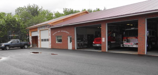The Belfast Fire Station has been expanded with two new bays, built collaboratively by the city's public works department and a private contractor.