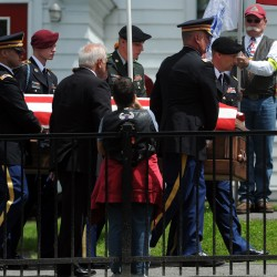 Fallen Newport soldier's funeral moved to Dexter church