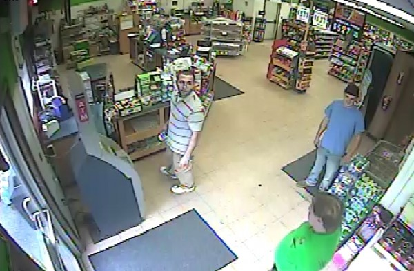 Surveillance footage from the Big Apple store in Orono.