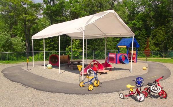 Bike Path, at Penquis Child Development Center located at the Elsie C. Coffey Center, Davis Rd., Bangor