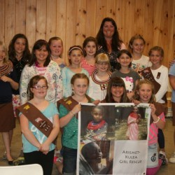 Girl Scout Troop 533 holds Awards Ceremony