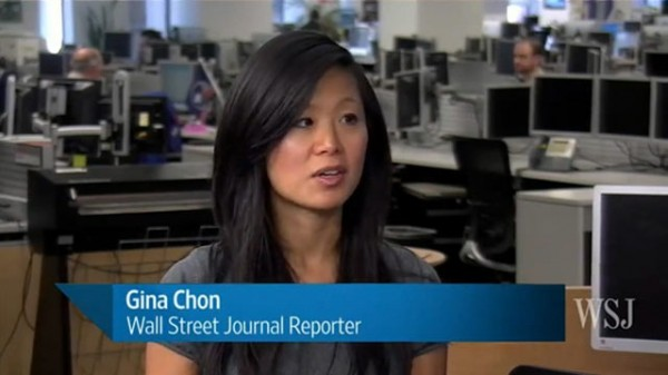 Gina Chon, a Wall Street Journal reporter, has resigned following revelations she'd had an affair with former Bush administration security advisor Brett McGurk.