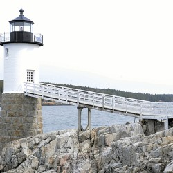 Iconic Maine landmark used in Brooks Brother's photo shoot