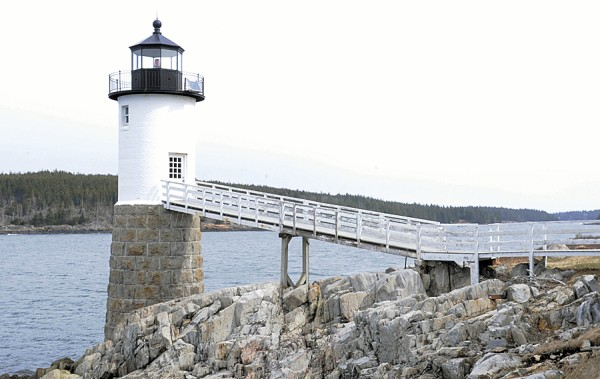 Robinson Point Lighthouse is one of the interesting sites to visit on Isle au Haut.