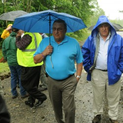 Railway opens southern leg of Brownville track wiped out by storm