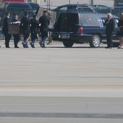Newport Army pilot's casket arrives in Bangor on Thursday morning