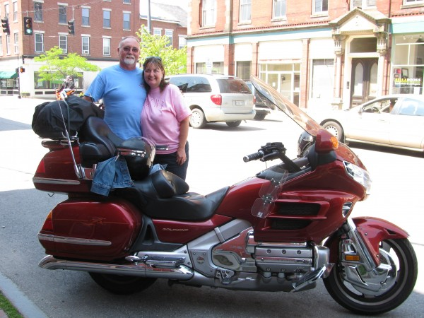 Bob and Teresa Coffman of Wayland, Mich., said that they were spending two and a half weeks and about $4,000 on a motorcycle tour to the Maine coast and back again. &quotYou're going to get a few of those people who like to rev it up through the town,&quot Bob Coffman said. &quotThose are probably the minority.&quot