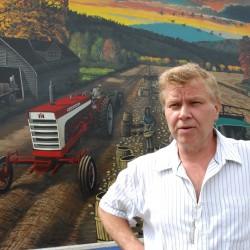 Retired businessman to honor farmers with mural