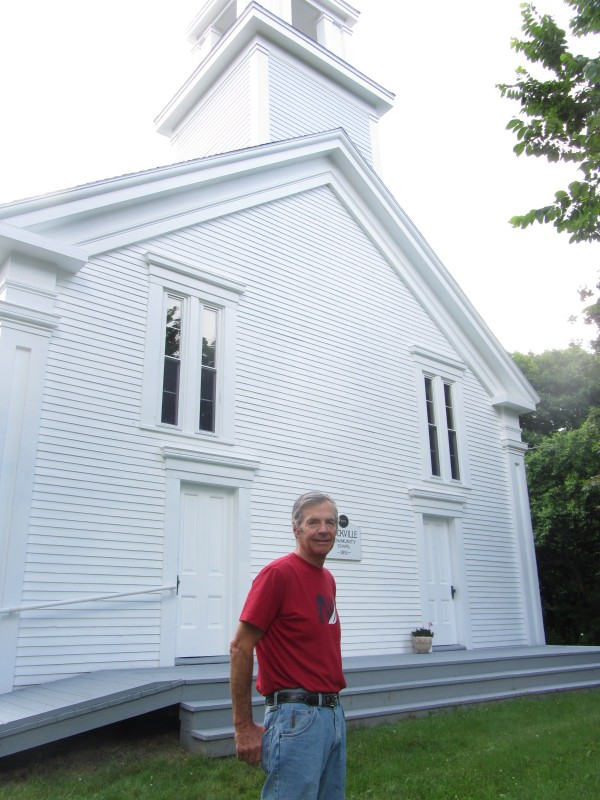 Roy Bennett is one of the trustees and hard-working volunteers for the Rockville Community Chapel.