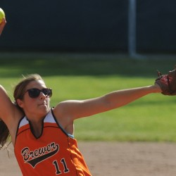 Cony's Sonja Morse shuts out Brewer in EM Class A softball final