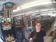 Orono police are asking the public to help identify the woman pictured in this surveillance system image.