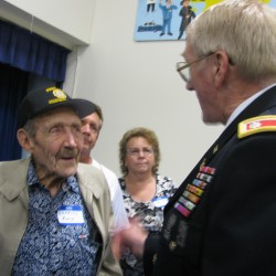 World War II Hero Honored in Stockton Springs