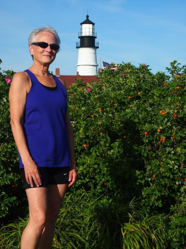 Michele Flynn of Cape Elizabeth has run every Beach to Beacon road race, and will run the 15th TD Beach to Beacon 10K on Aug. 4. In 2004, she ran the event while being treated for breast cancer.