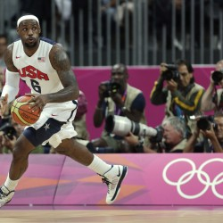 US overwhelms Australia 119-86 in Olympic men's hoops
