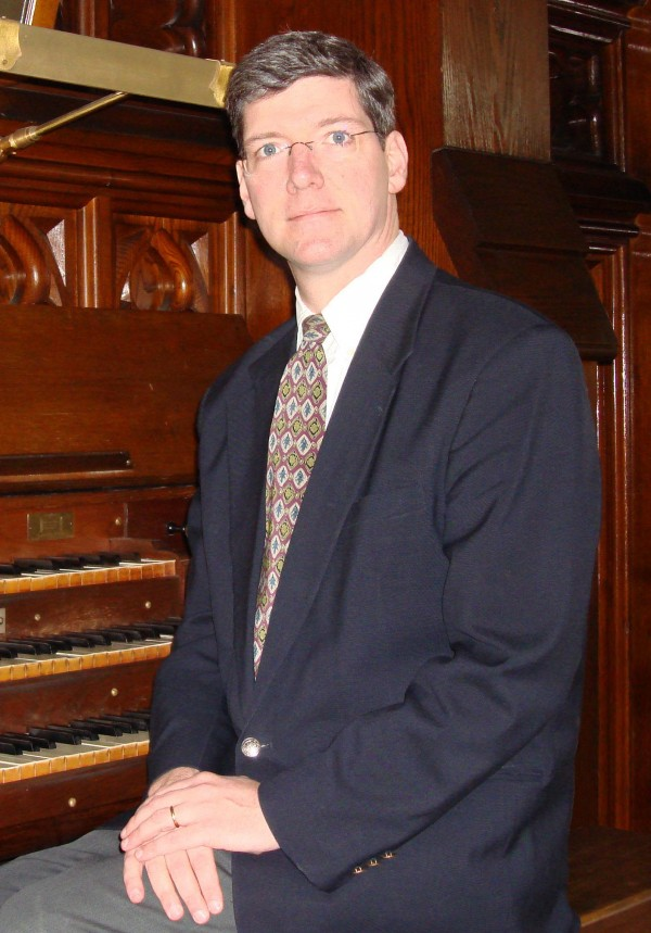 Kevin Birch, music director, St. John Catholic Church, Bangor.
