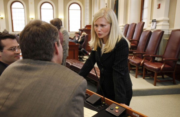 Hannah Pingree in 2010 as Maine Speaker of the House.