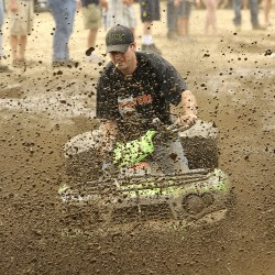Redneck Olympians get dirty during mud runs, lawn mower races in Hebron
