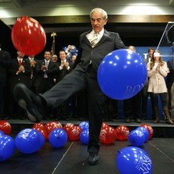 Give up, Ron Paul backers. The fight is over