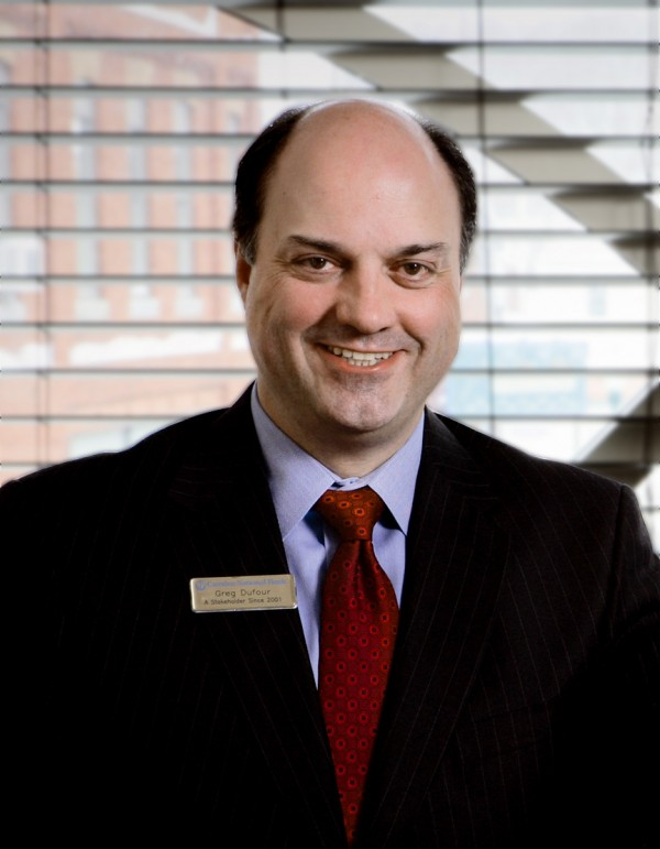 Greg Dufour, president and CEO of Camden National Bank