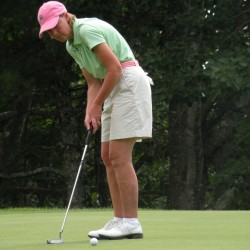 Kannegieser leads tight pack in state women's amateur at Brunswick Golf Club
