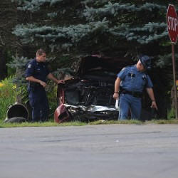 Two struck by car on North Main Street in Brewer