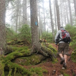 Trekking the Gaspe with Carey Kish and Fran Leyman
