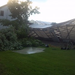 Severe storms cause damage throughout northern Maine