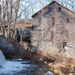 Labor of love restoring Freedom grist mill that was built to last