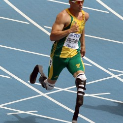 Double-amputee runner Pistorius bows out of Olympic 400 in semifinals