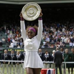 Serena Williams comes back to win U.S. Open; men's final set Monday