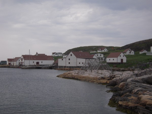 The Battle Harbour National Historic Site and Historic District off the coast of Labrador commemorates the 19th and early 20th century fishing outports of Newfoundland and Labrador.