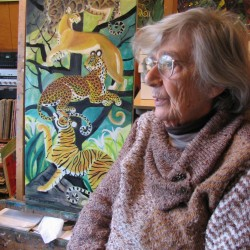 At 93, children's book illustrator Dahlov Ipcar gives young readers her vision of the ABCs