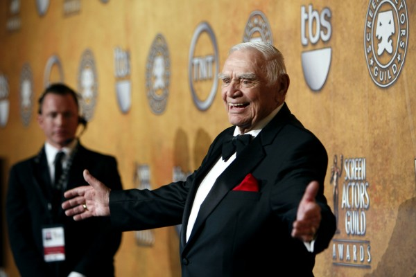 Actor Ernest Borgnine appears at the 17th annual Screen Actors Guild Awards at the Shrine Auditorium in Los Angeles, Calif., on Jan. 30, 2011.