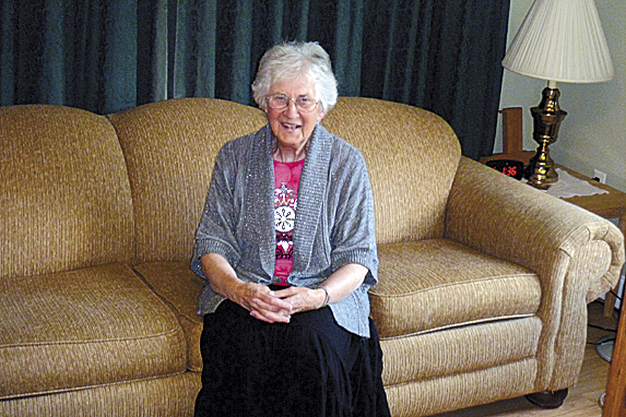 Counselor Eileen Ward has been a fixture at St. Andre Home in Bangor for nearly 40 years.