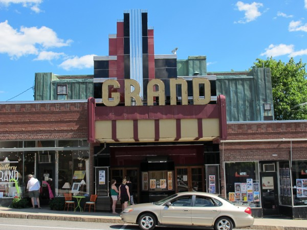 The Grand in Ellsworth is seen on Tuesday, July 10, 2012.